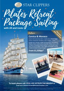 Pilates & Sailing Retreat Poster