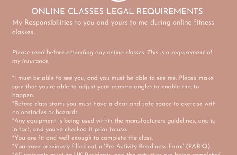 Legal Requirements for Online Classes